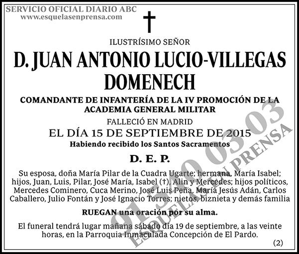 Juan Antonio Lucio-Villegas Domenech